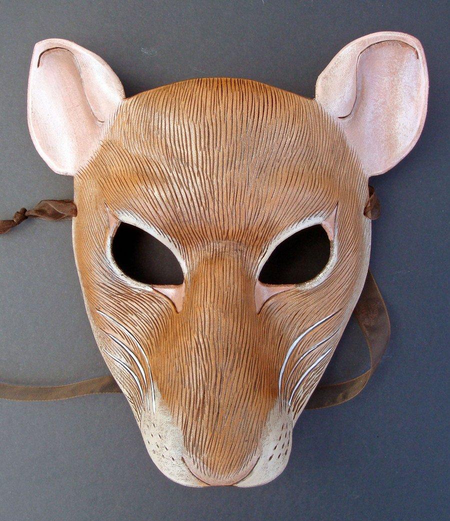Как сделать маску крысы своими руками
